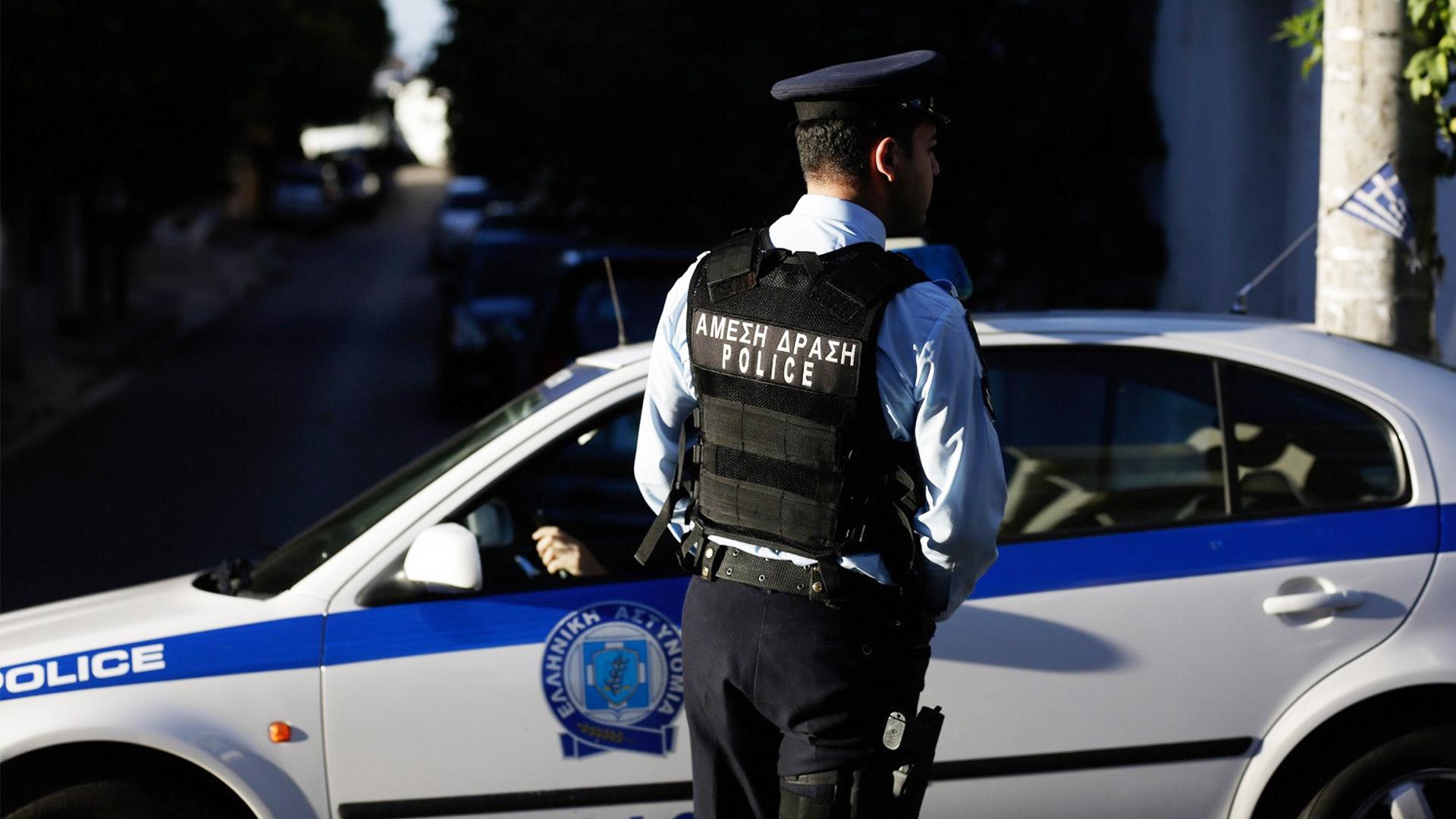 περιπολικό σύλληψη